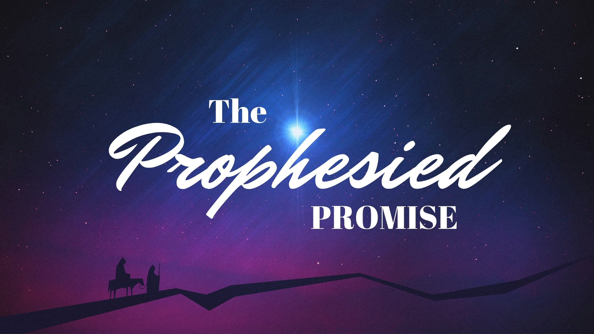 Thursday December 6, 2018 The Prophesied Promise - Pastor Anthony Cox