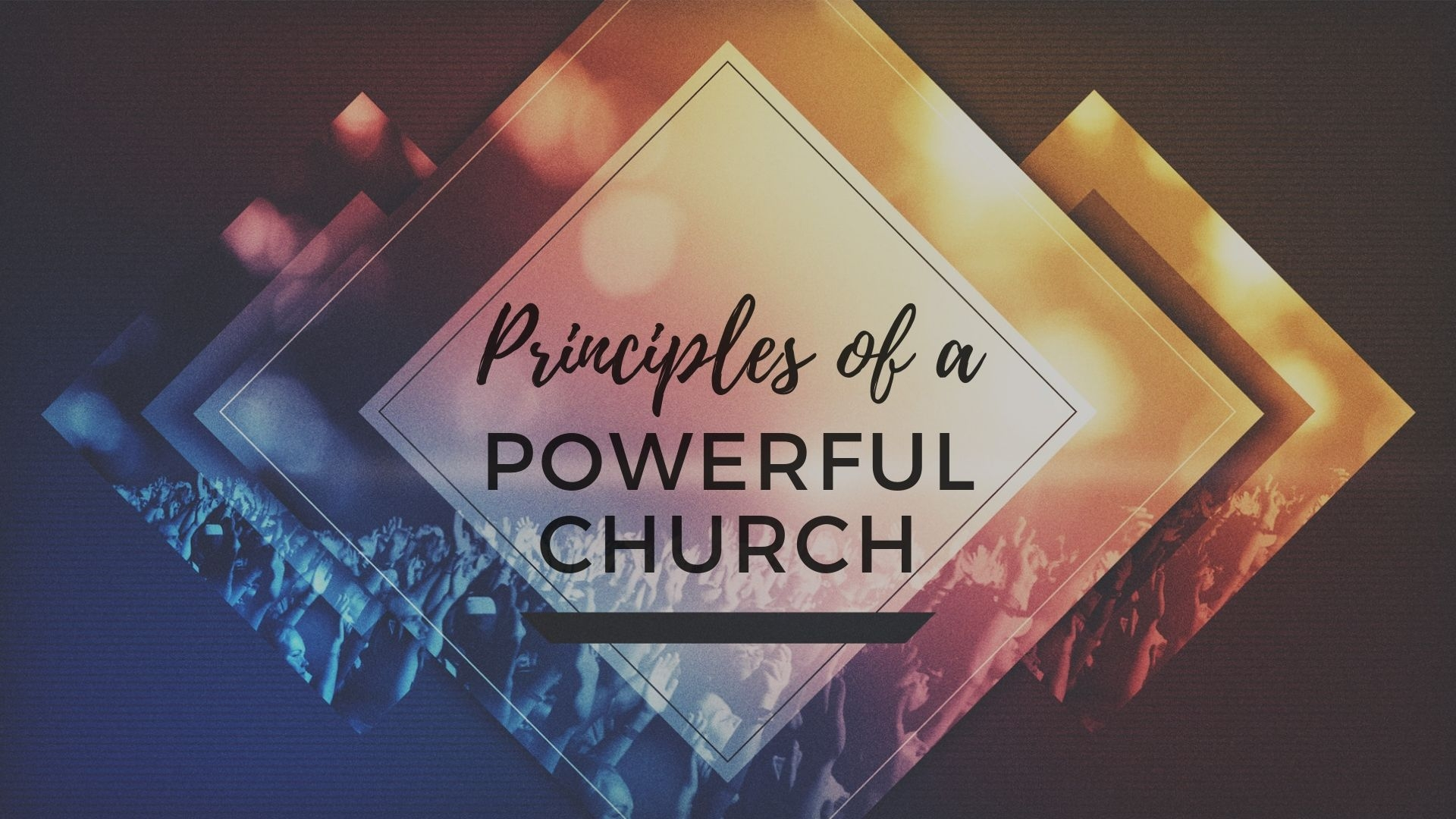 Sunday June 30, 2019 Principle Of A Powerful Church Part 1- Pastor Anthony Cox
