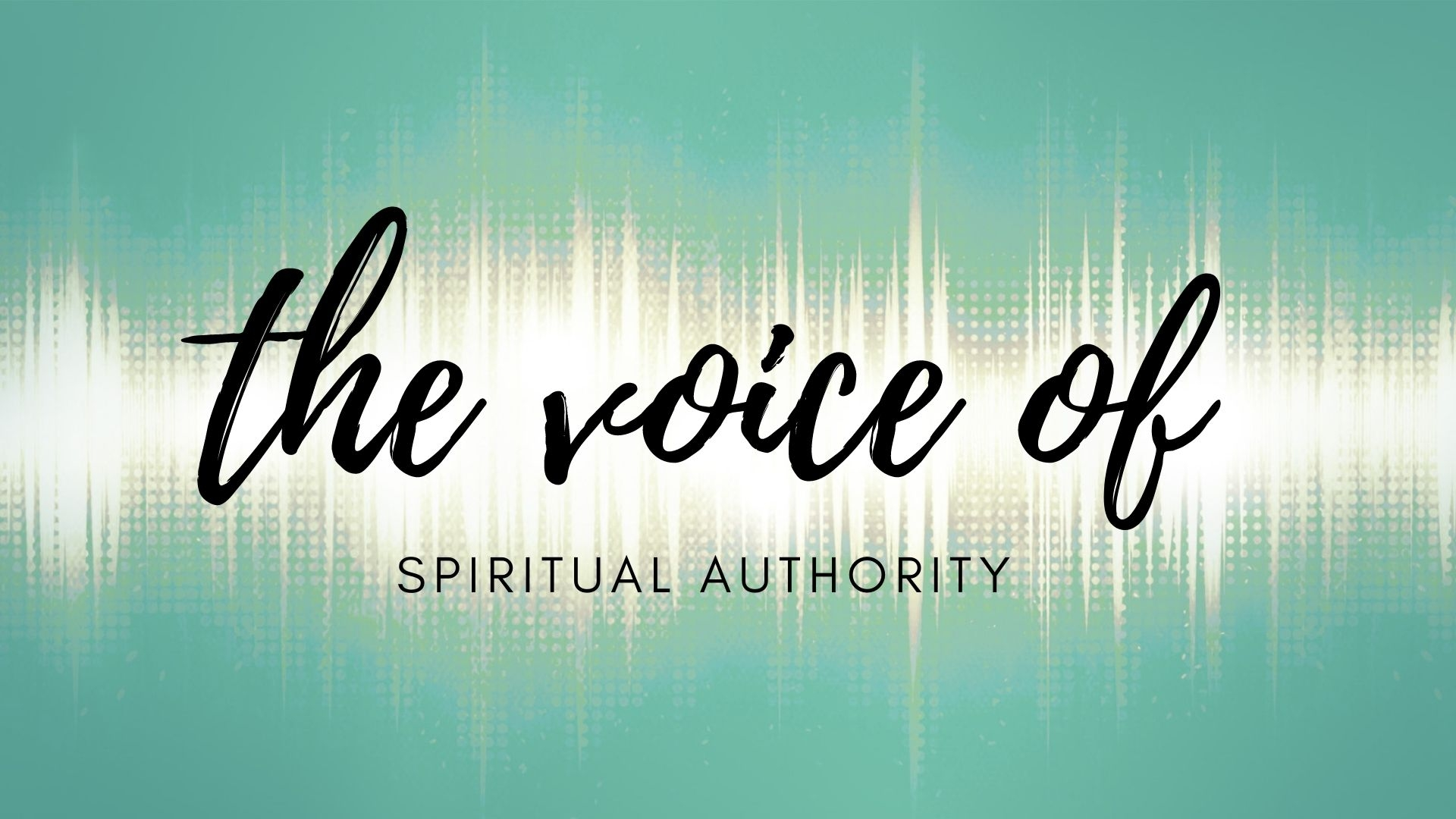 Thursday September 3, 2020 The Voice Of Spiritual Authority - Pastor Anthony Cox