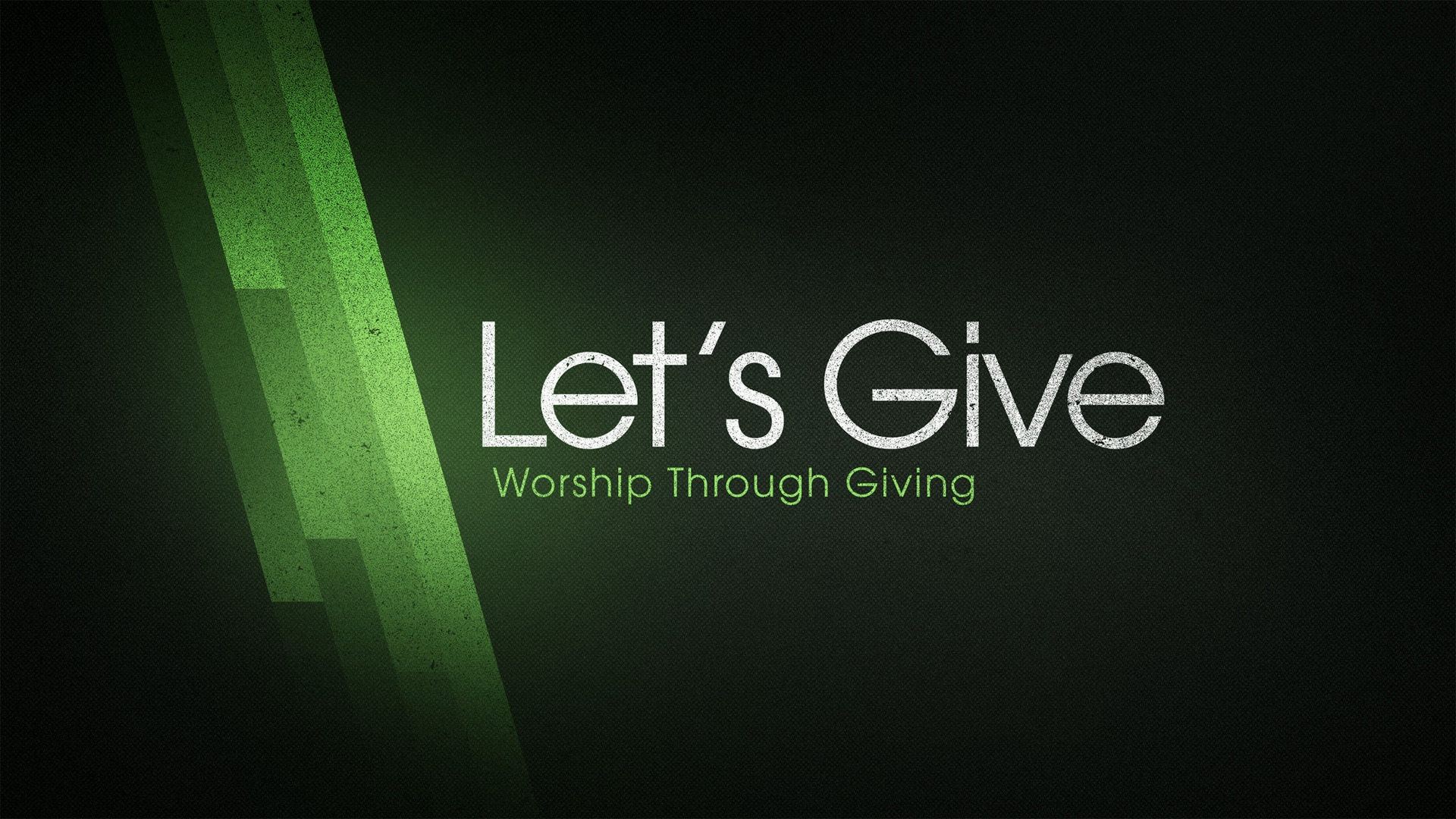 Sunday August 18, 2019 Let's Give: Worship Through Giving - Pastor Anthony Cox