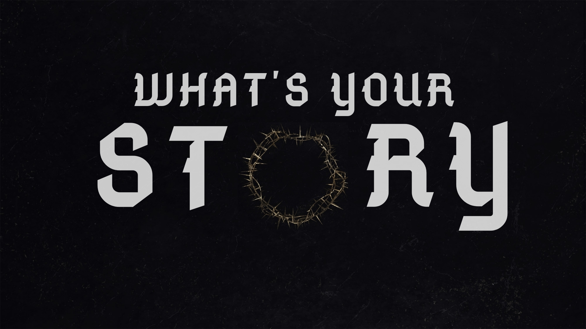 Sunday April 21, 2019 What's Your Story? - Pastor Anthony Cox