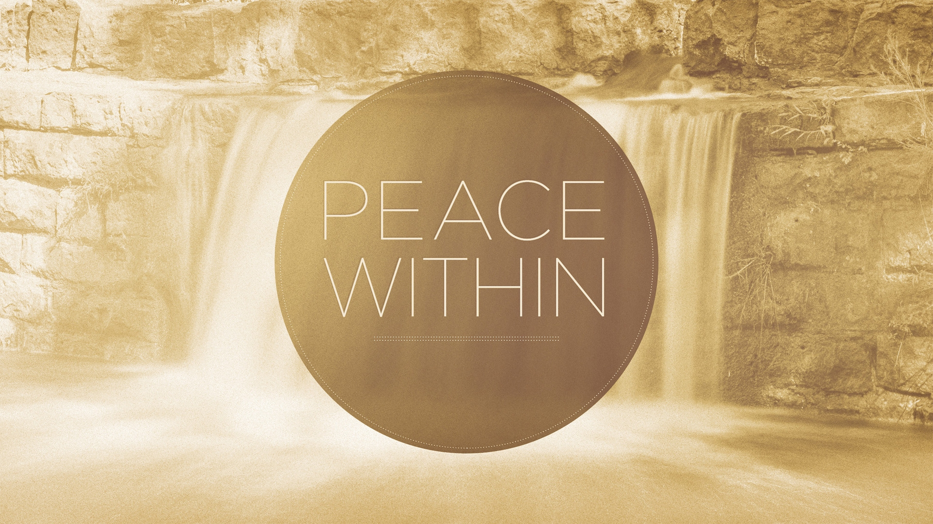 Sunday September 20, 2020 Peace Within - Pastor Anthony Cox