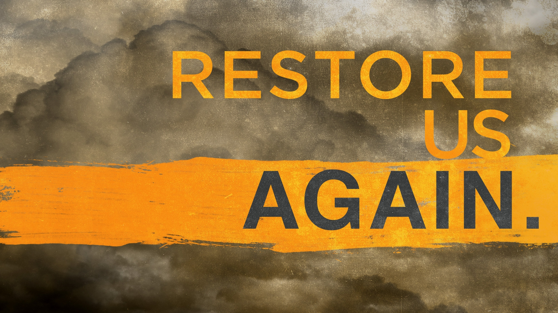 Sunday June 21, 2020 Restore Us Again - Pastor Anthony Cox