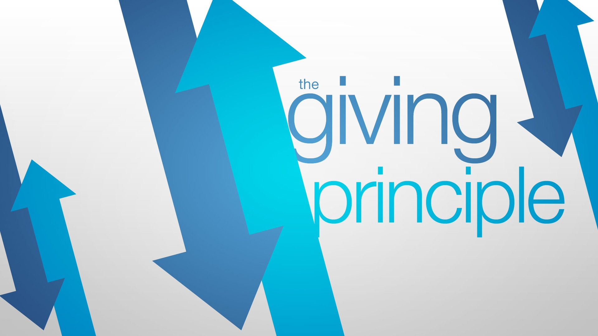 Thursday August 15, 2019 The Giving Principle - Pastor Anthony Cox