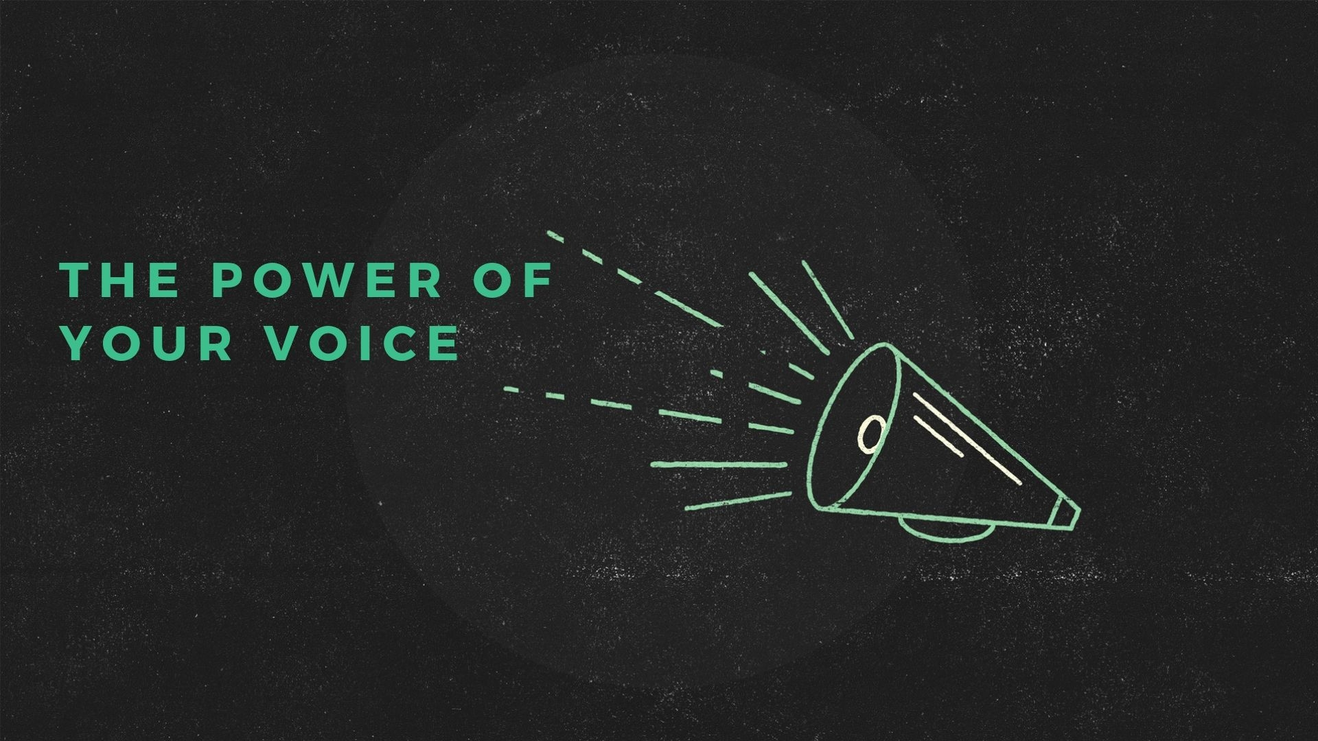 Sunday June 30, 2019 The Power Of Your Voice - Rev. Tim Ramonett