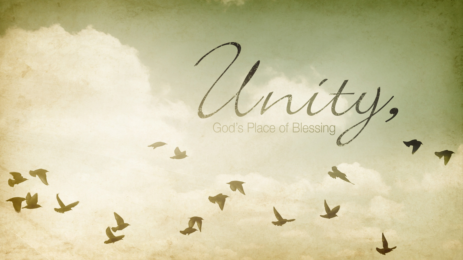 Sunday February 3, 2019 Unity: God's Place Of Blessing - Pastor Anthony Cox