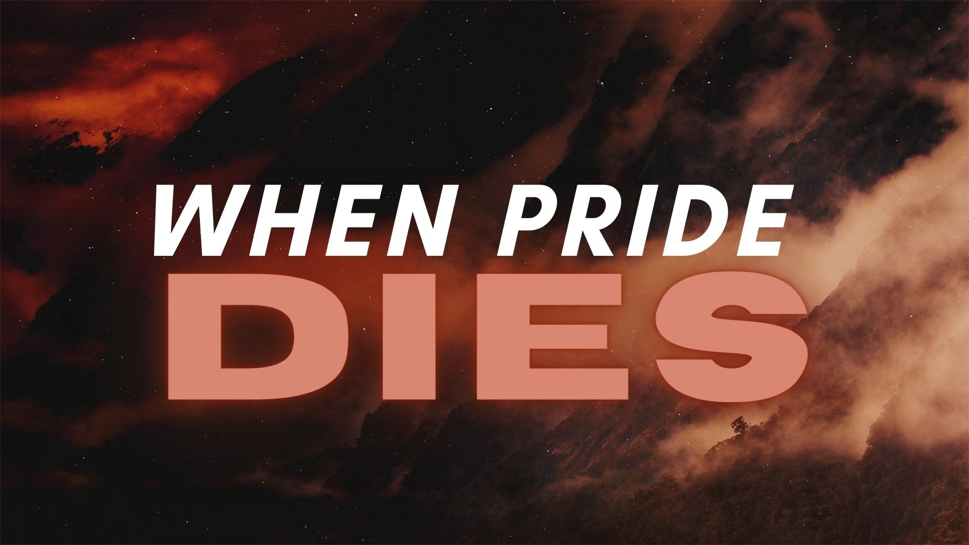 Sunday January 24, 2021 When Pride Dies - Pastor Anthony Cox