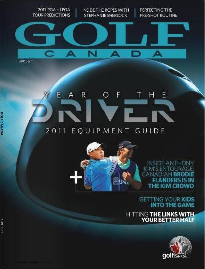 Golf Canada Magazine April Issue