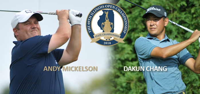 Mickelson, Chang Share Illinois Open Lead