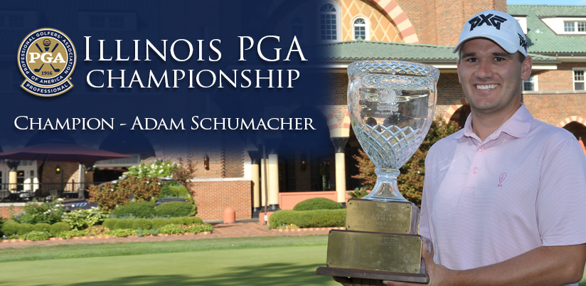 Schumacher Roars from Behind to Win Illinois PGA Championship