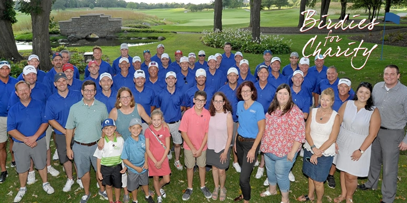 ILLINOIS PGA PROFESSIONALS SET NEW RECORDS FOR BIRDIES MADE AND DOLLARS RAISED AT 8th ANNUAL BIRDIES FOR CHARITY EVENT