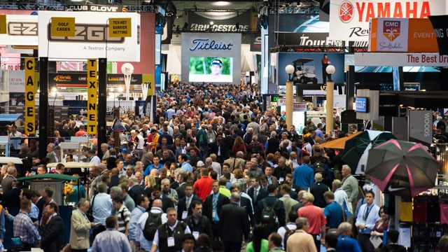 The PGA Merchandise Show floor