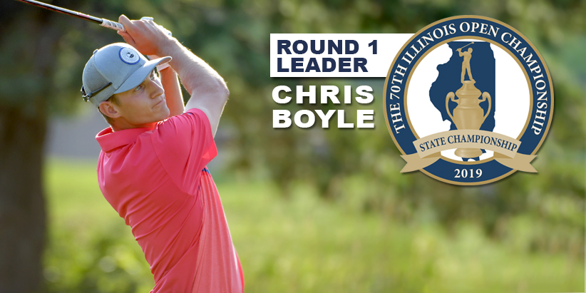 Boyle Leads 70th Illinois Open Championship