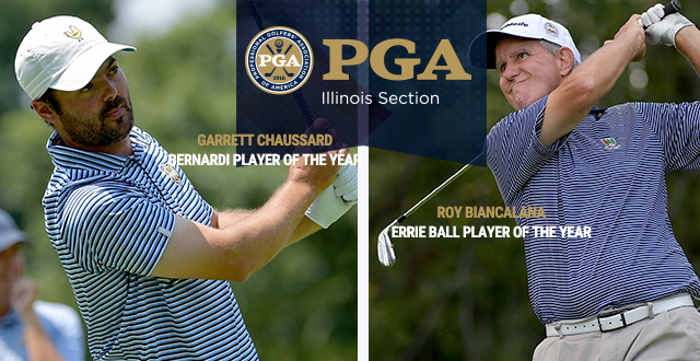 Chaussard and Biancalana Capture Illinois PGA Player of the Year Honors