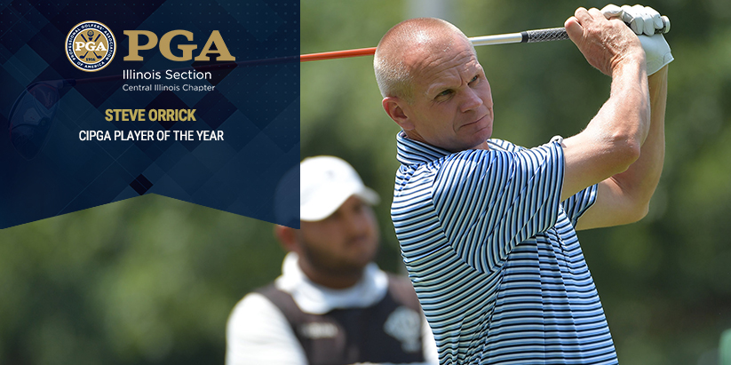 Orrick Wins Second Straight CIPGA Player of the Year