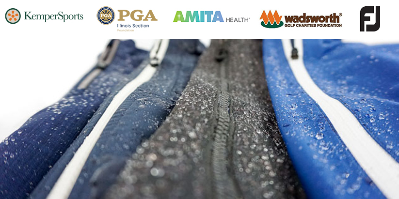 KemperSports, Illinois PGA Foundation and FootJoy Team Up To Support AMITA Health Workers With Rain Suits For Responsers Program