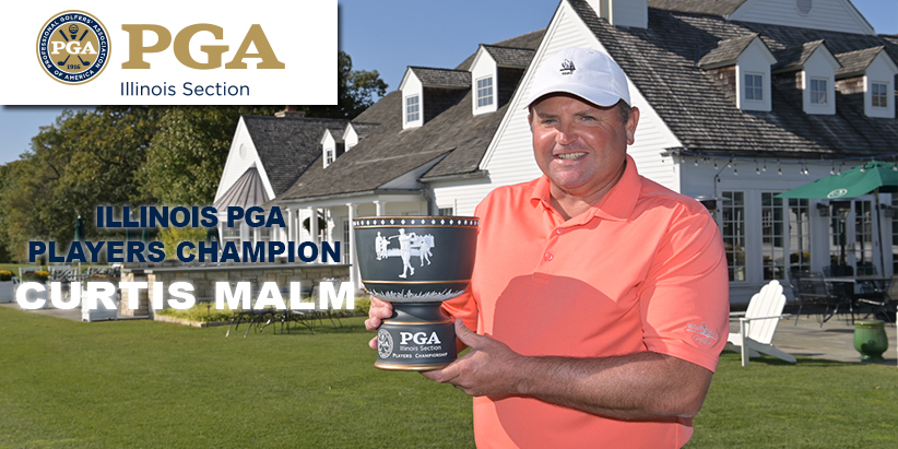 Malm Earns First Victory of the Season at Illinois PGA Players Championship