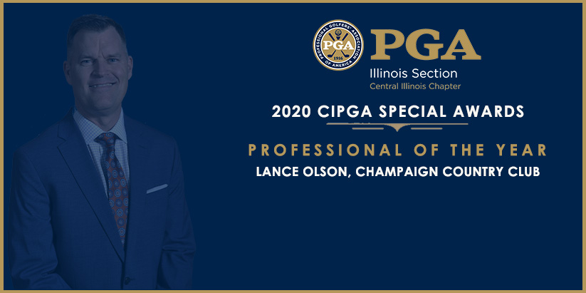 Central Illinois PGA Chapter Announces 2020 Special Award Winners