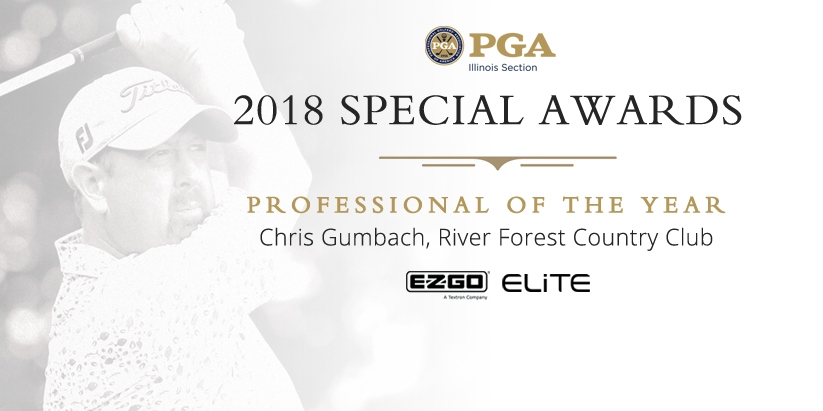ILLINOIS PGA SECTION ANNOUNCES 2018 SPECIAL AWARD WINNERS
