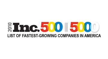2010 Inc. Magazine Fastest Growing Businesses