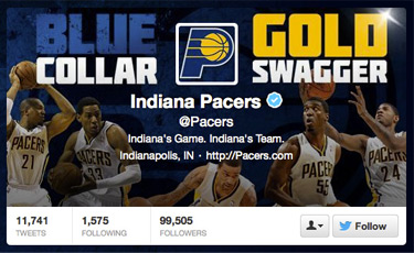 Indiana Pacers Twitter Header Photo
