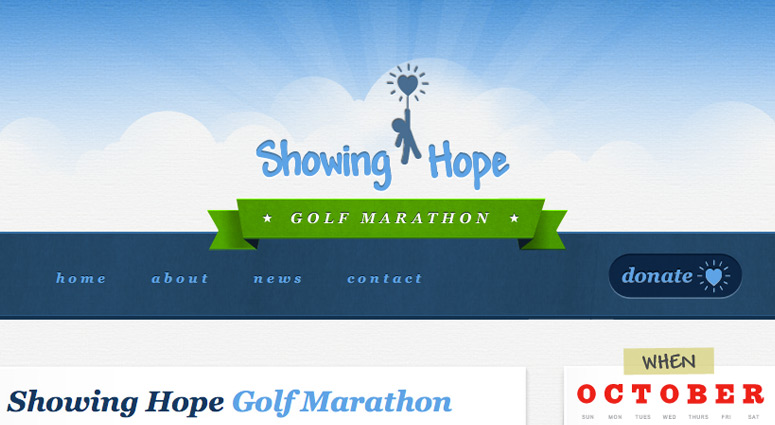 The 2011 Show Hope Golf Marathon