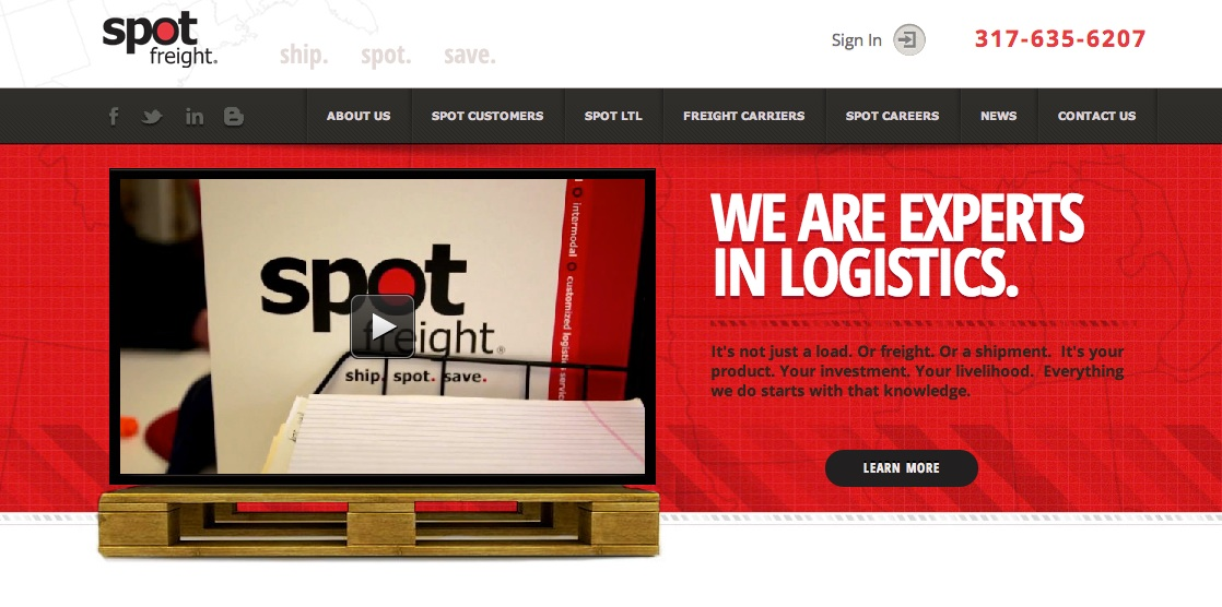 A 2014 Marketing Mix with Spot Freight Inc