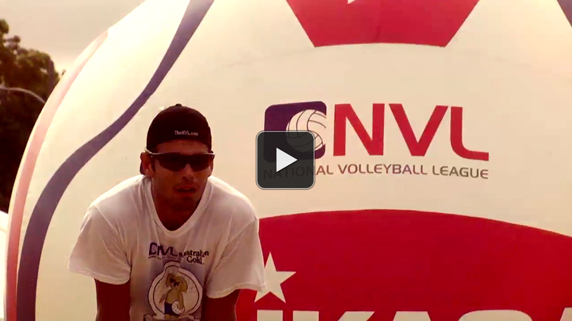 The National Volleyball League show open