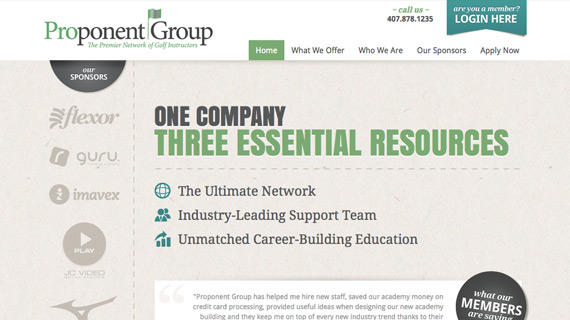 Proponent Group