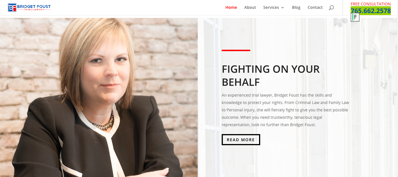 "Websites That Make Our Clients ""Beyond Thrilled"" - Client Spotlight: Bridget Foust"