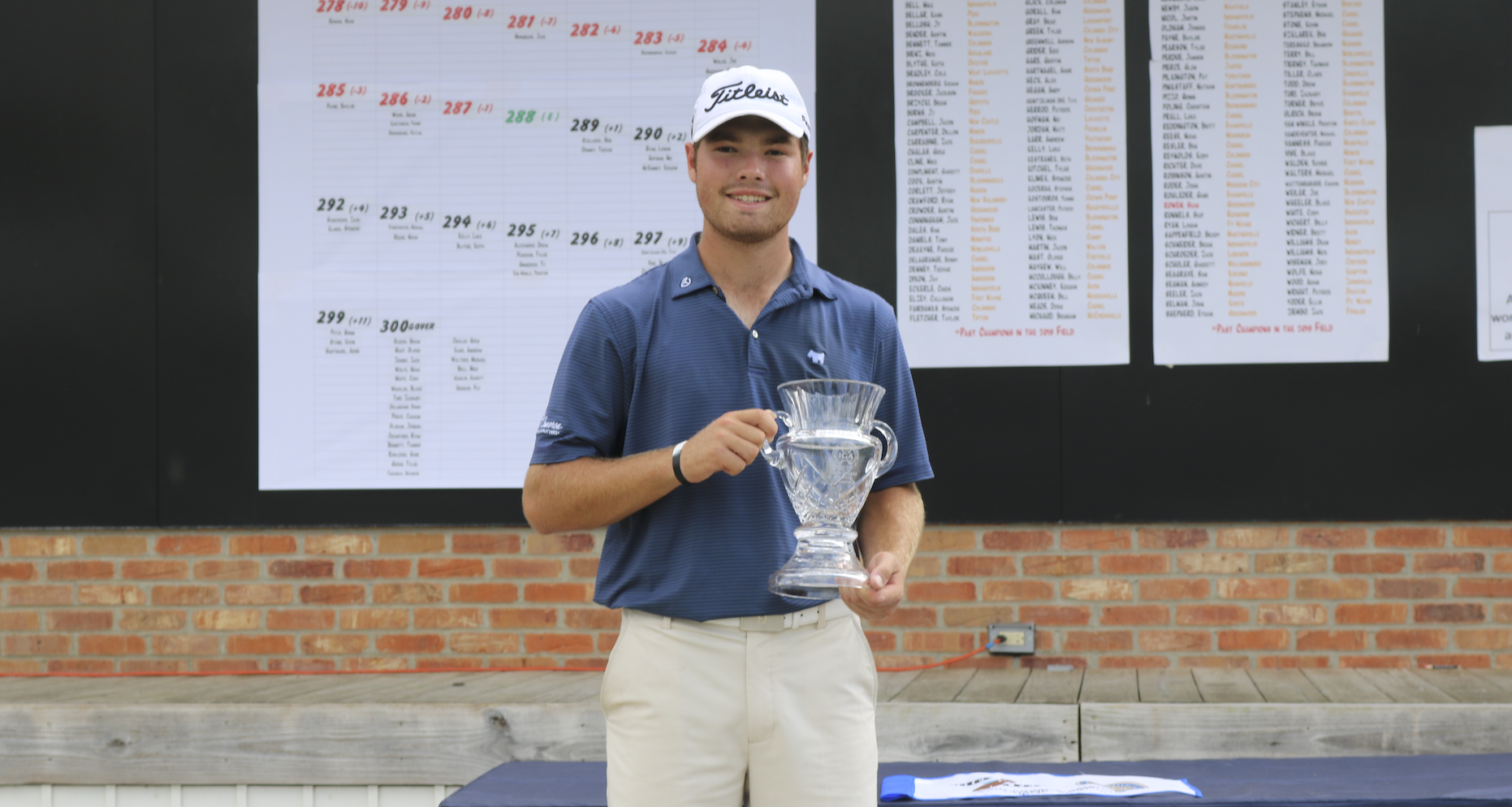 Cole Bradley Takes Home First State Am Title