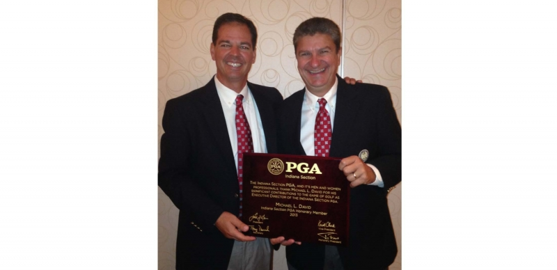 Mike David Named Honorary Member of the Indiana Section PGA