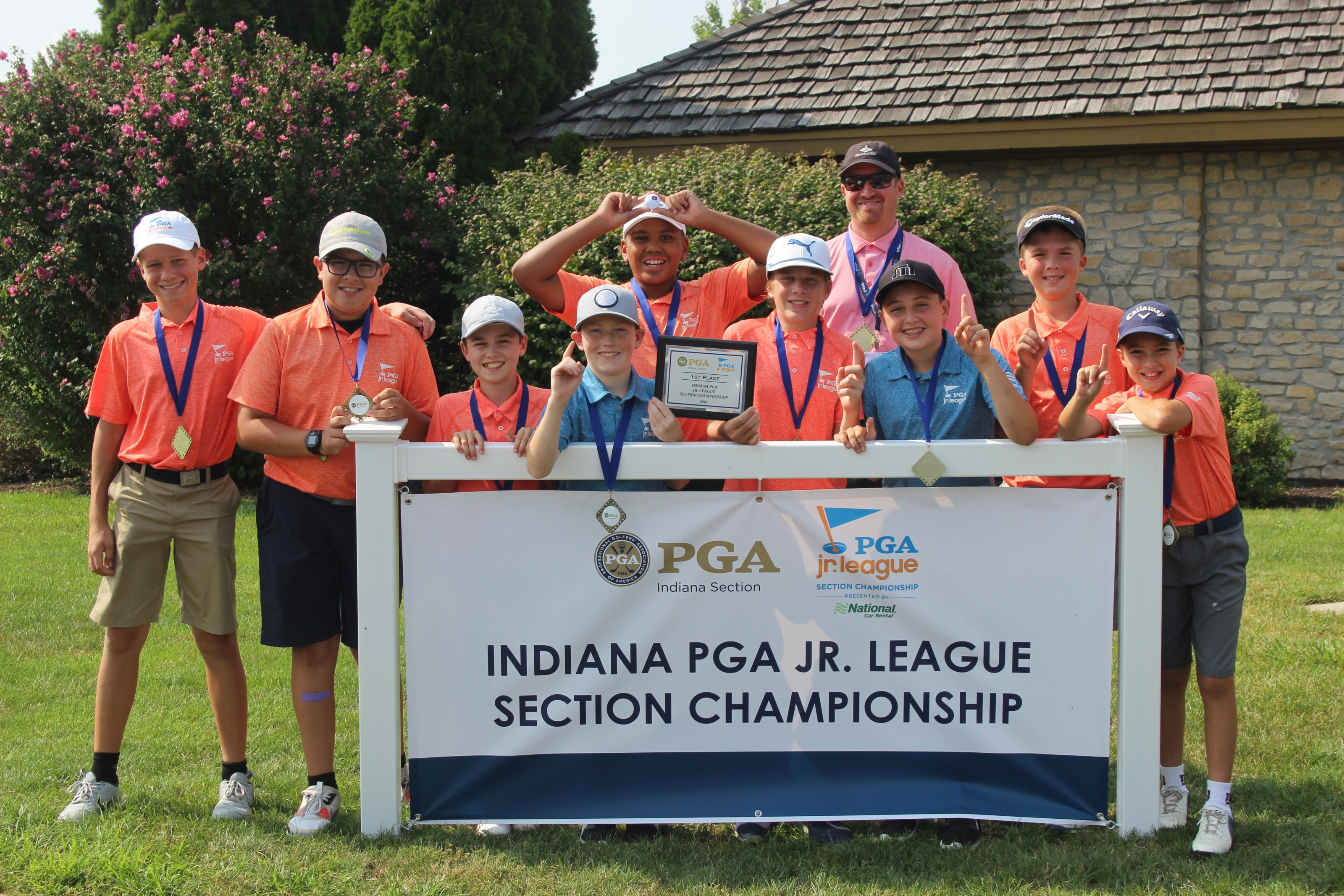 Indy 2 All-Stars Win PGA Jr. League Indiana Section Championship