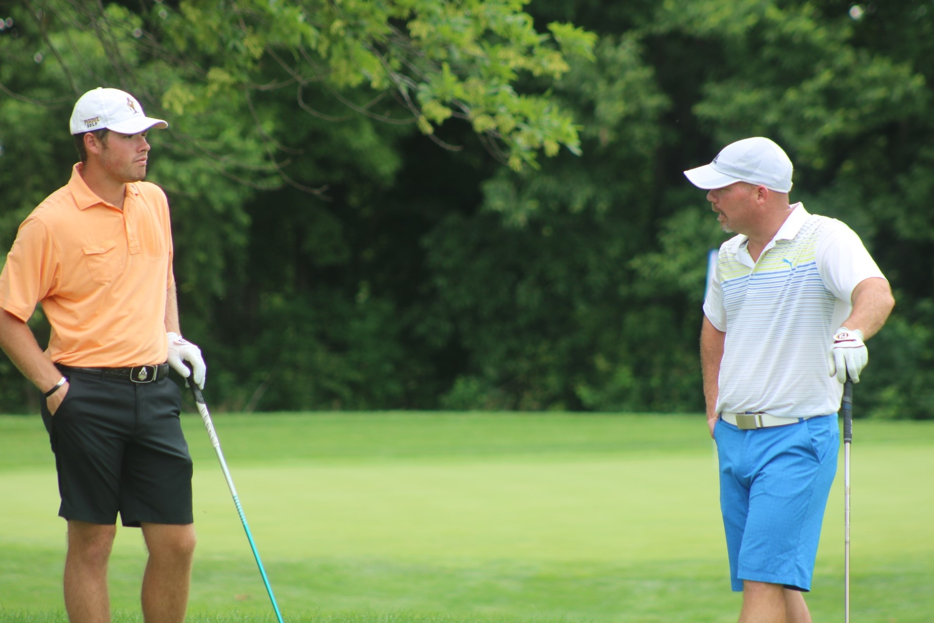 Bradley and Rowen Separate from the Field Heading to State Am Final Round