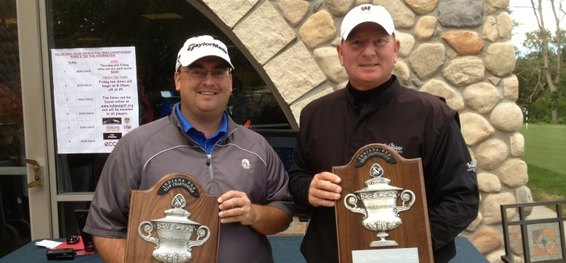 Carich and Werkley Win PGA Team by Large Margin