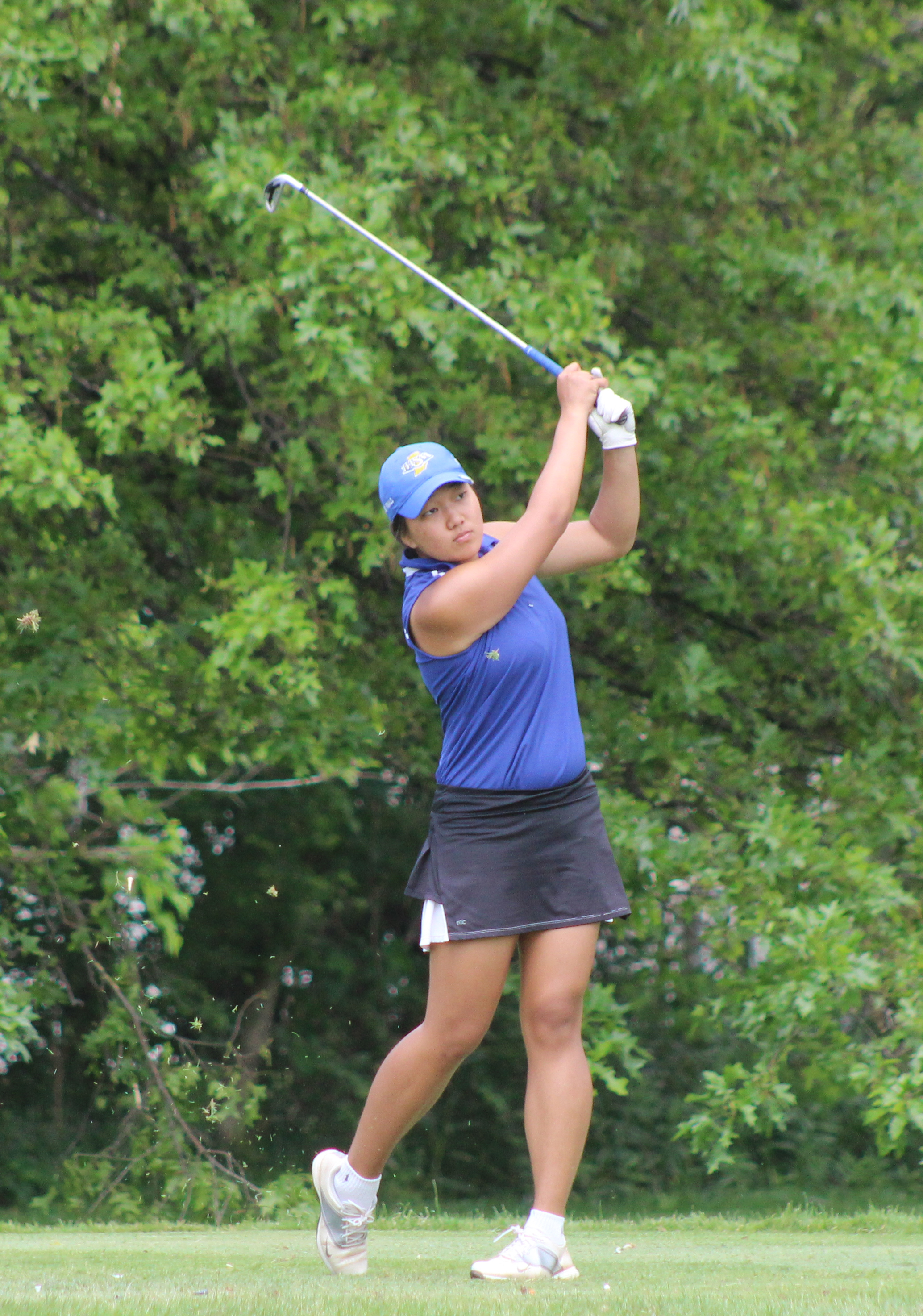 Career Round Carries Kim to State Junior Title