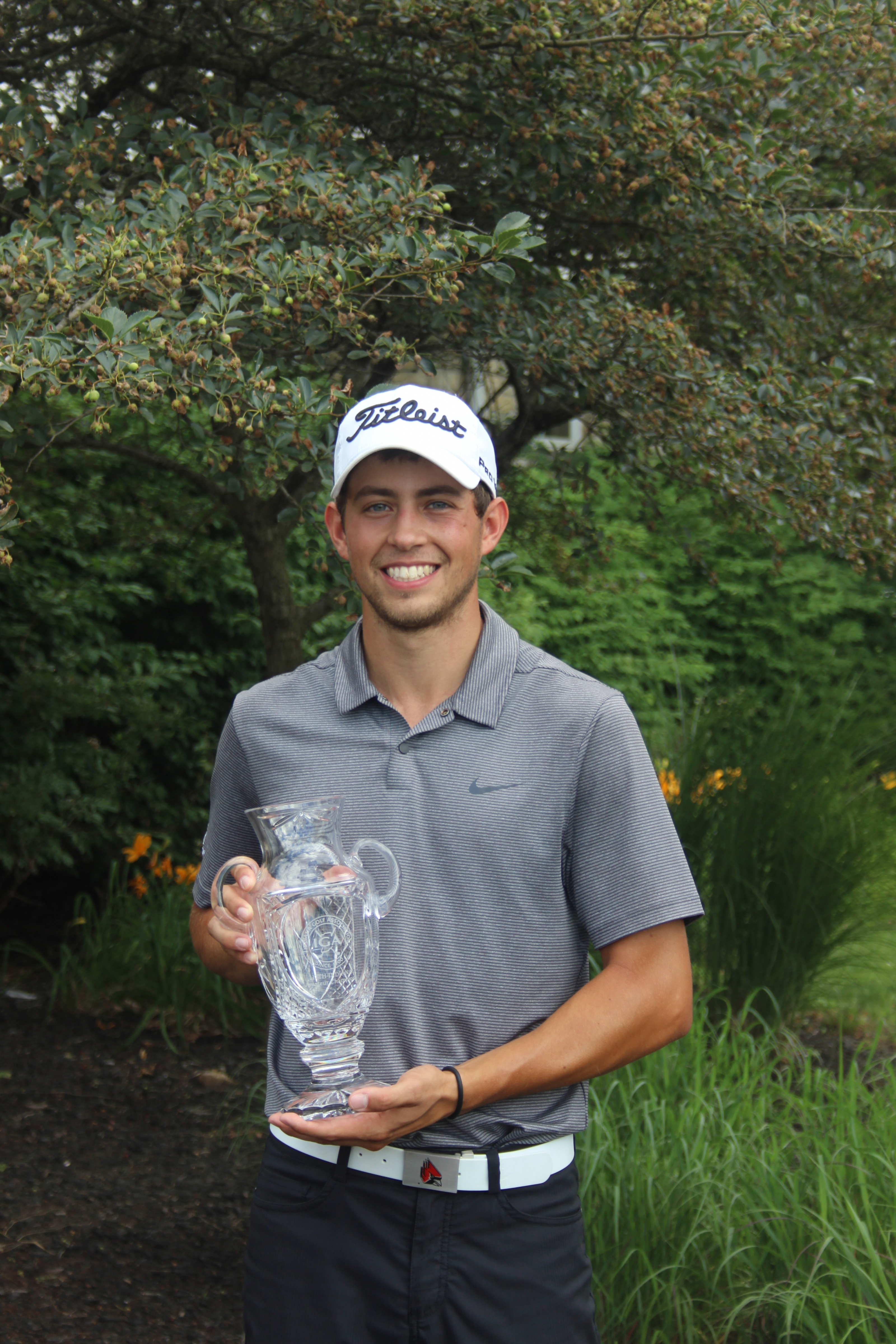 Makris Leads Wire-to-Wire to Win State Am