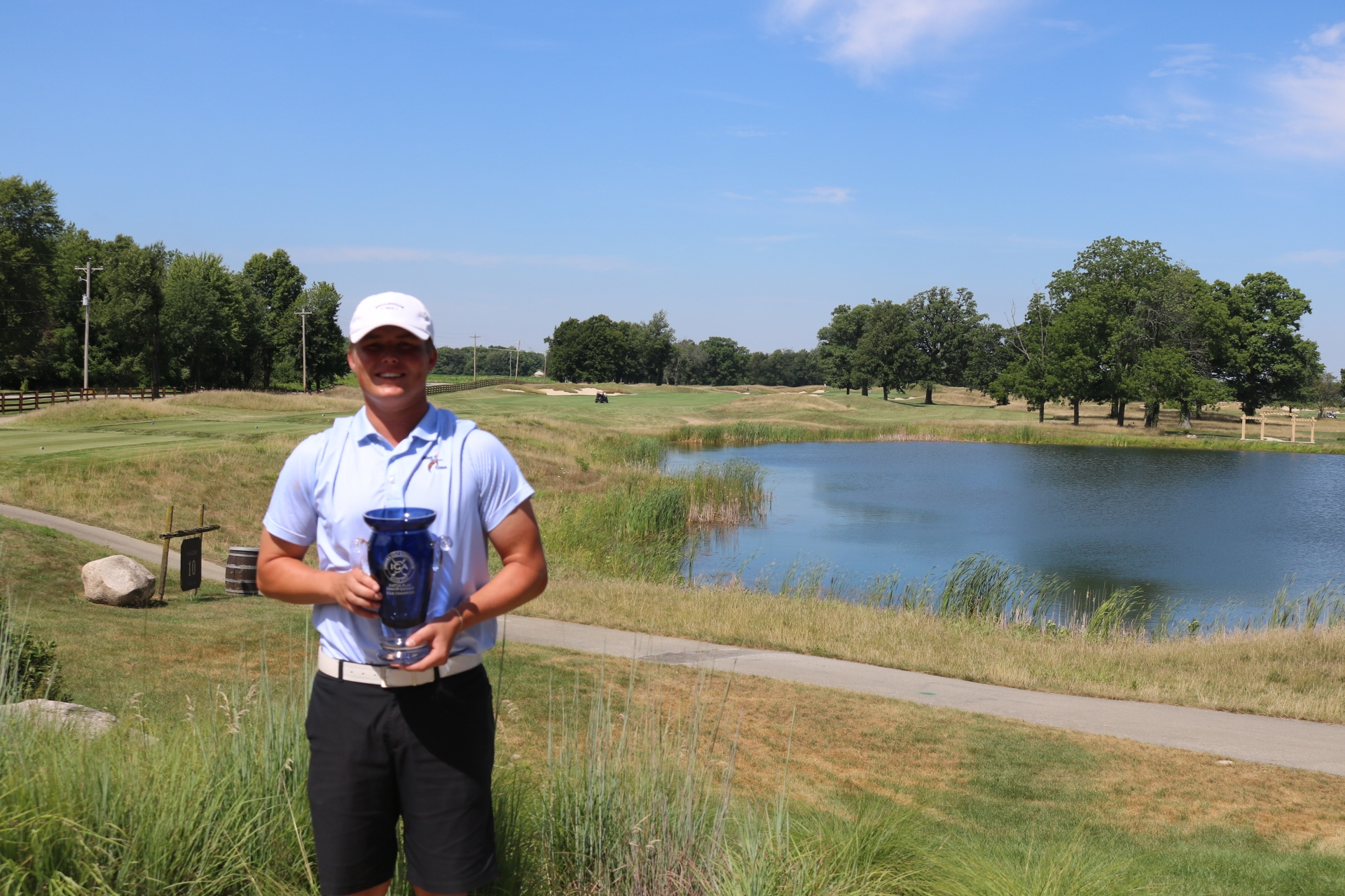 Austin Crowder survives 20 holes to win IGA Match Play Championship