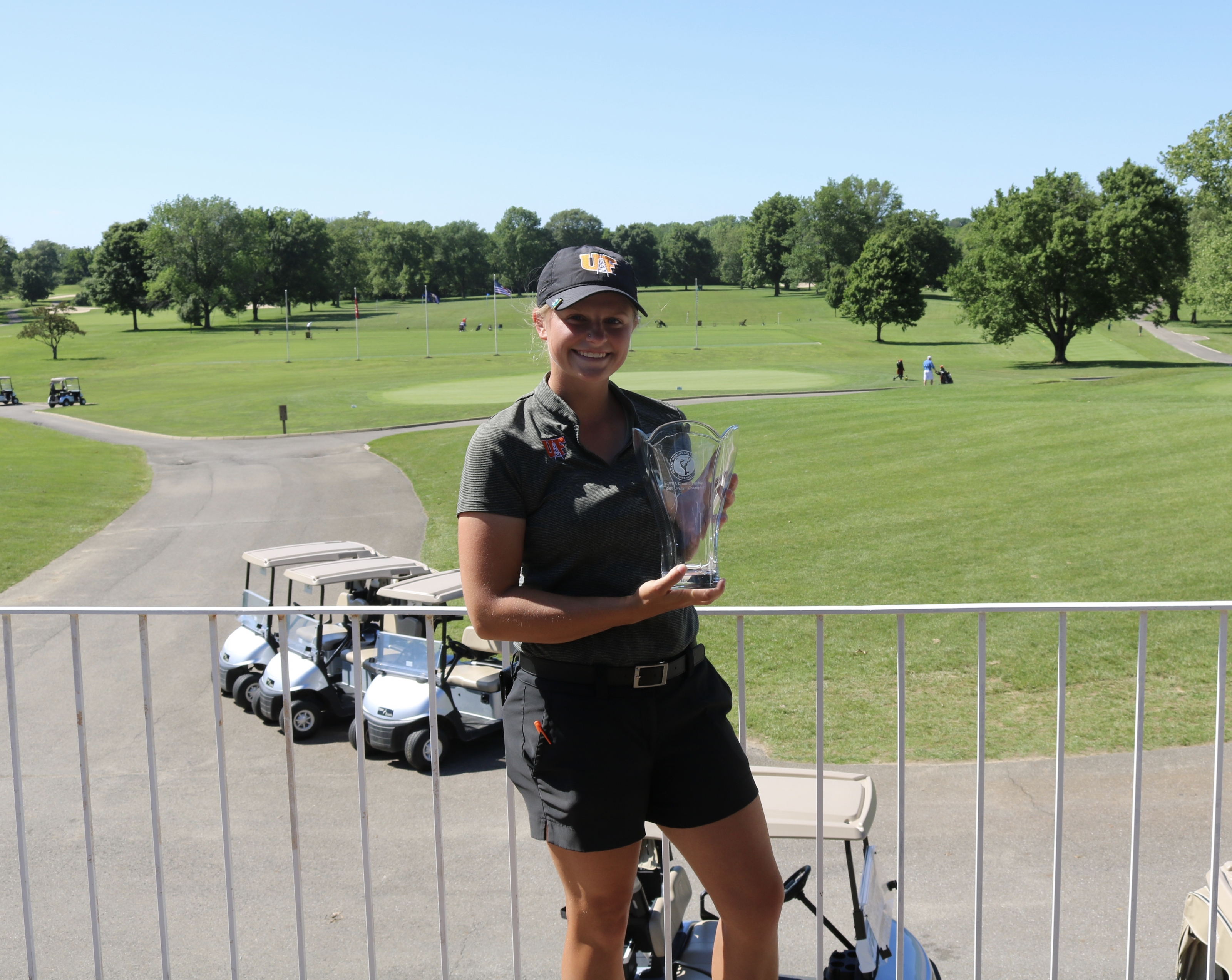 Kristina Kniesly Comes from Behind to Win 2018 IWGA Championship