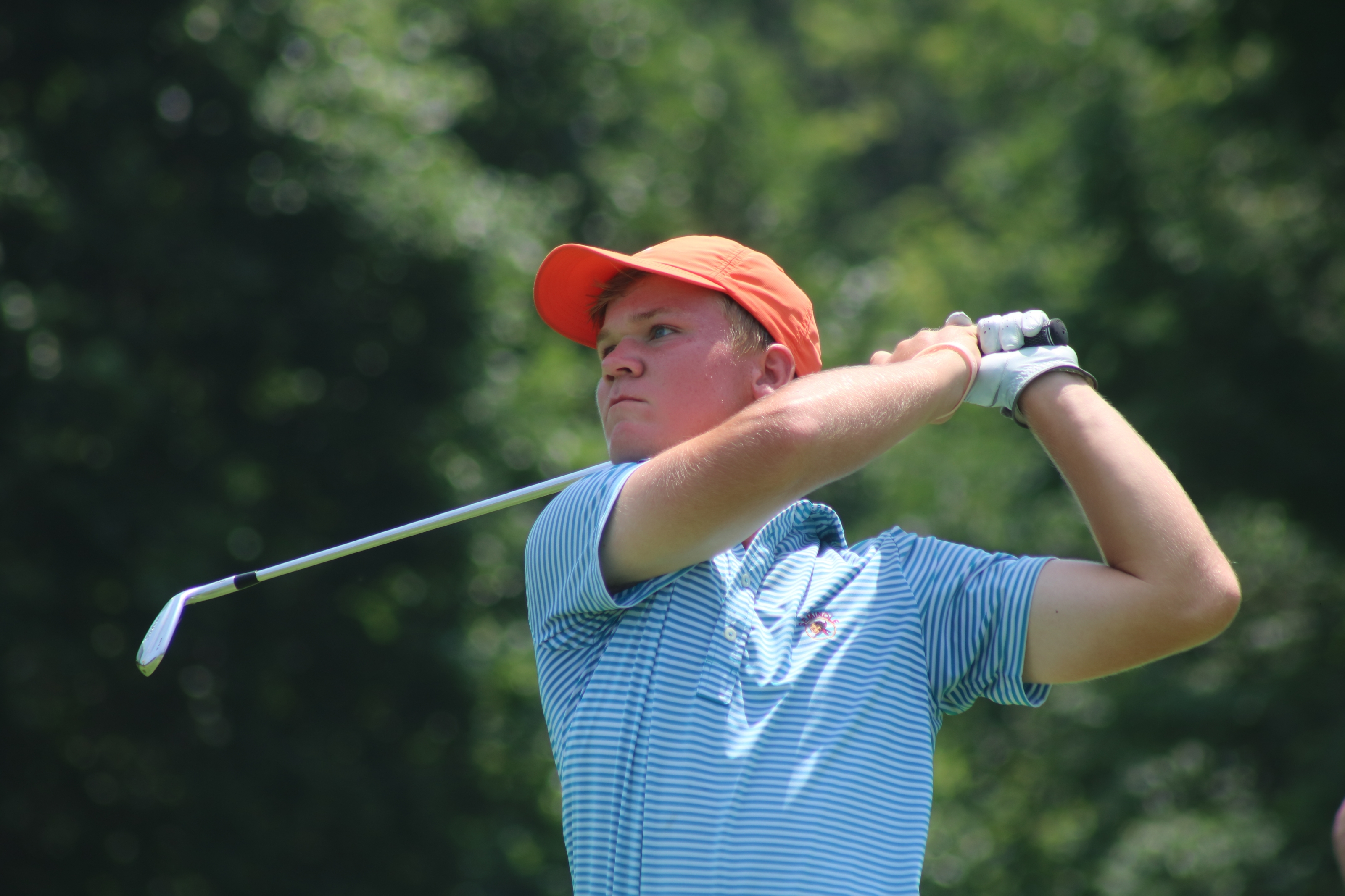 Nicholas Hofman wins Stroke and Match play at Boys State Junior Championship