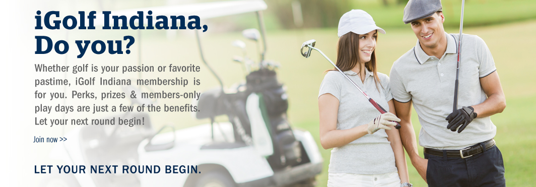Indiana Golf Office Microsite