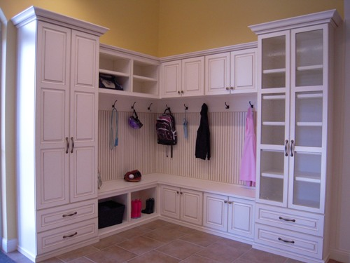 Mudroom And Pantry Custom Cabinets Carmel Fishers