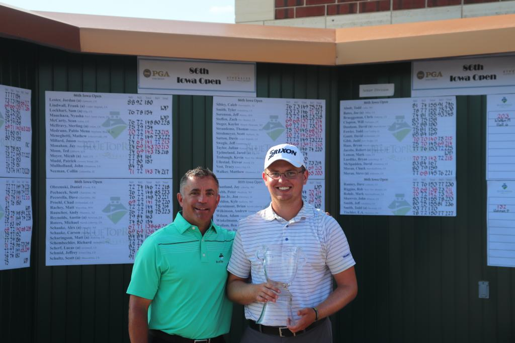 Matthew Walker Crowned 86th Iowa Open Champion