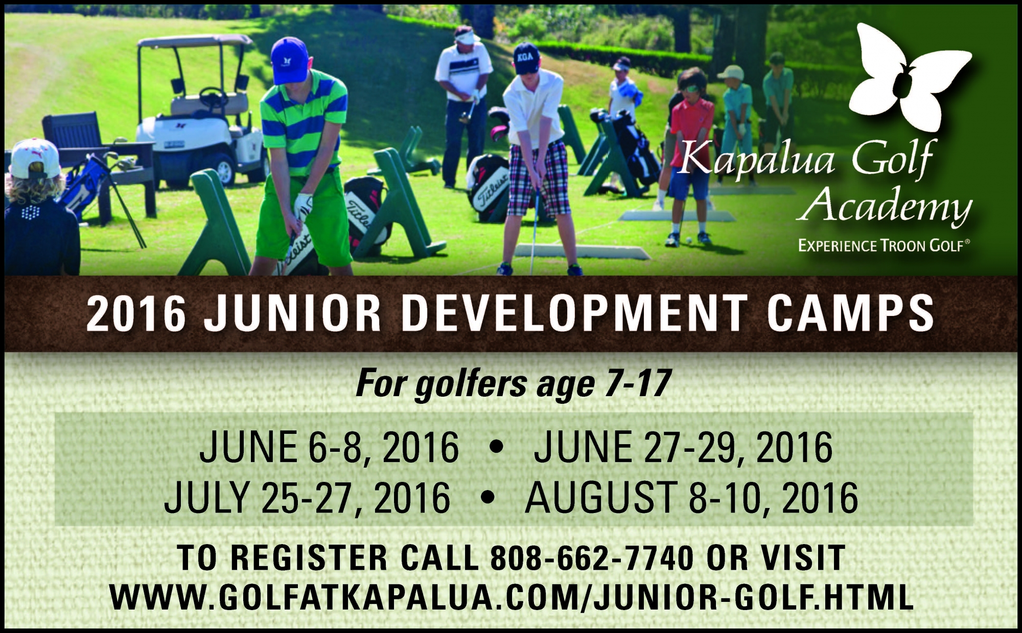 2016 Junior Development Camps