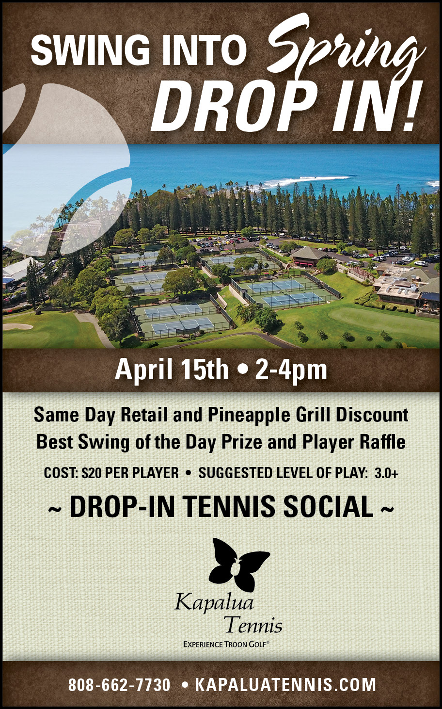Swing into Spring Tennis Social