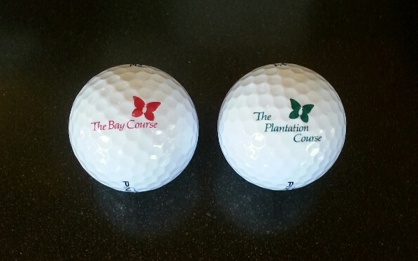 Bay Course/Plantation Course Logo Ball
