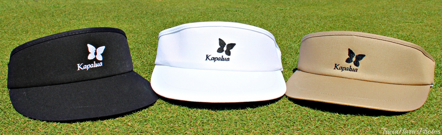 Men's Imperial Kapalua Visor - Black, White, Navy and Khaki