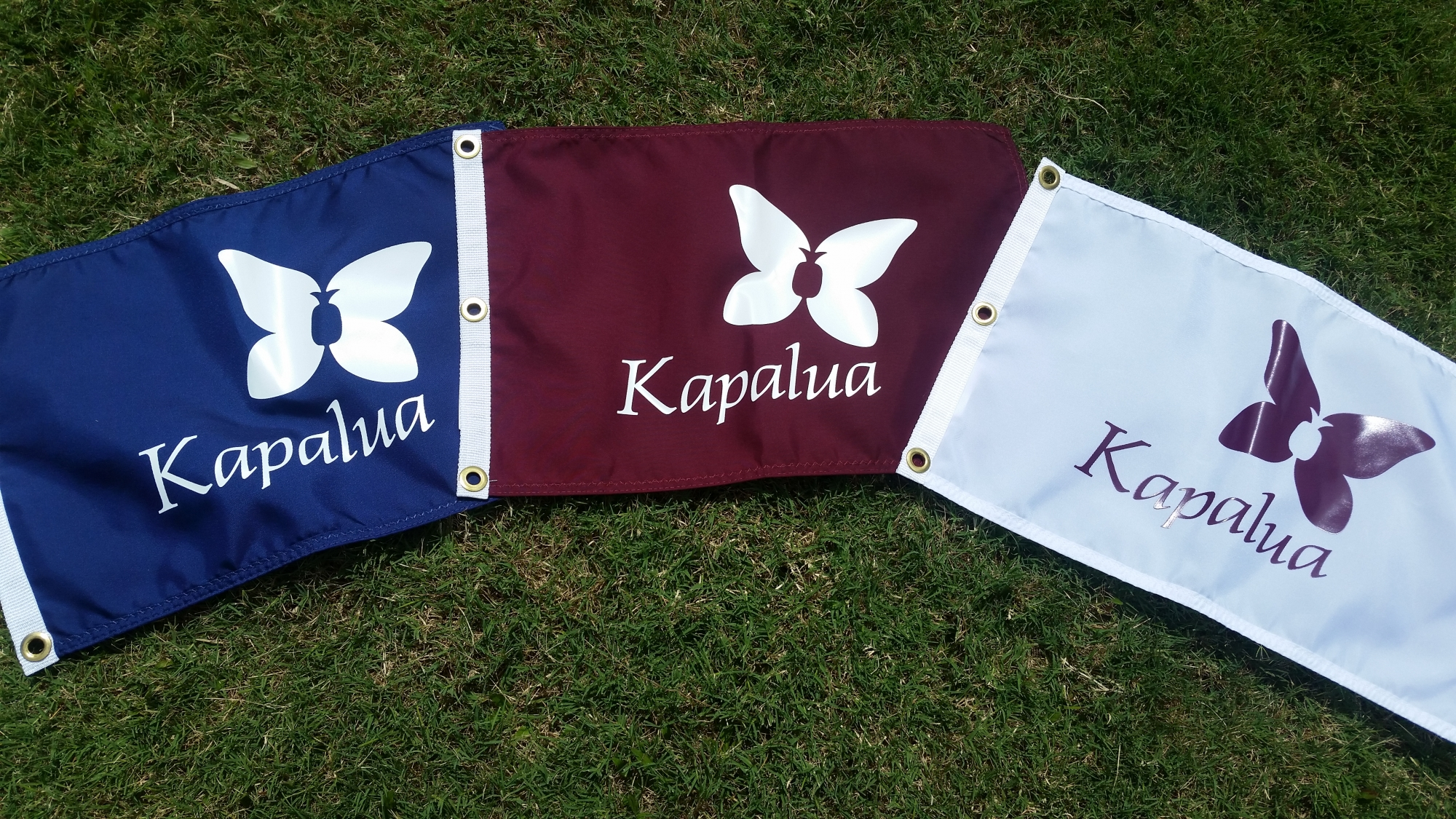Silk Screen Kapalua Pin Flag