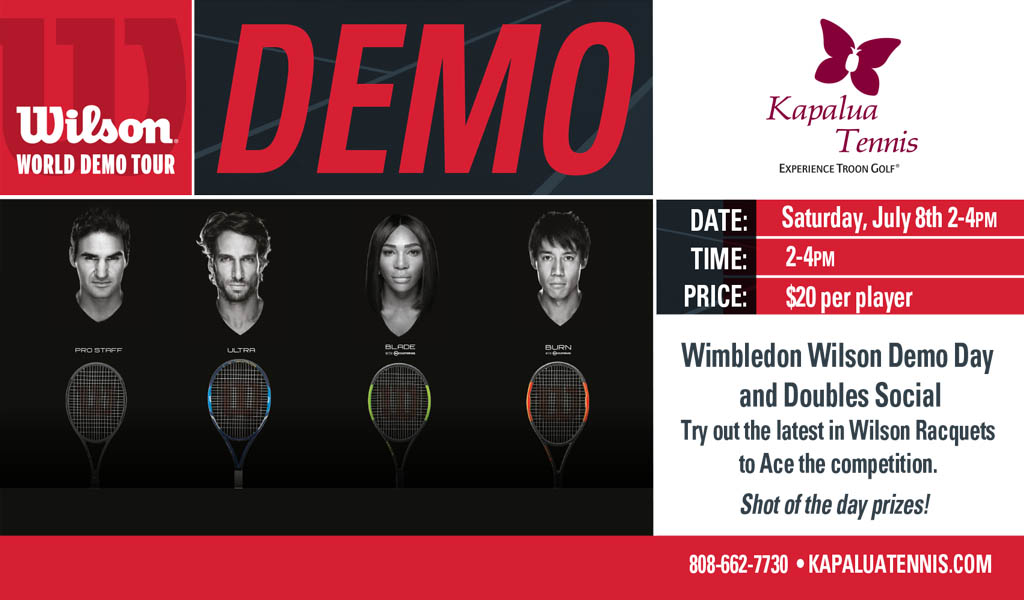 Tennis Demo Day