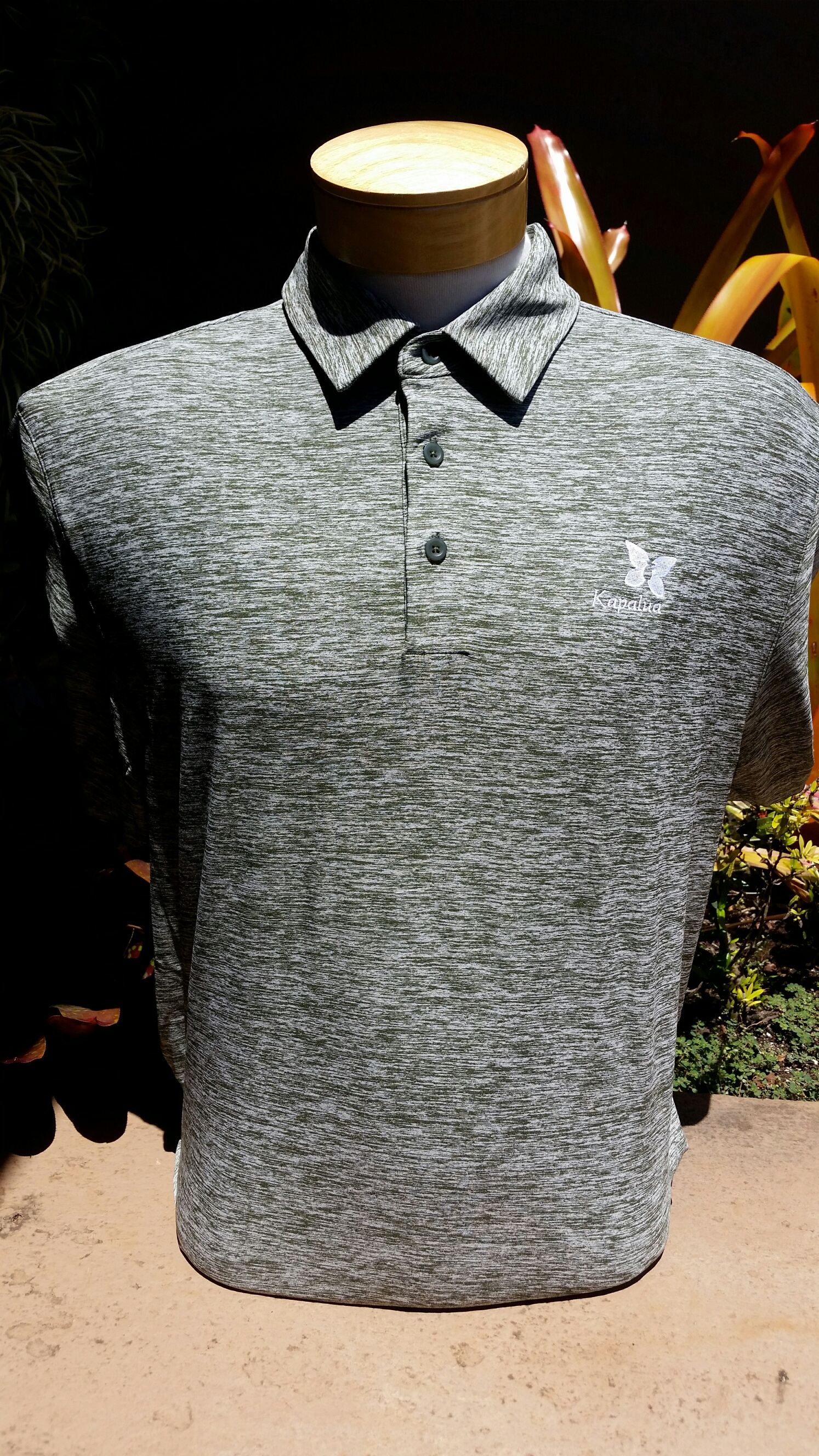 Under Armour Mens Polo Shirt - Heather Green